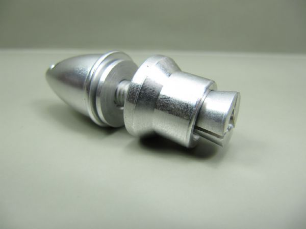 Prop adapter to suit 5.0mm motor shaft (collet)